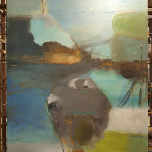 h:120 x b:80 cm, Birgit Bay - UFO