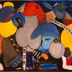 Untitled, h:100 x b:120, Birgit Bay