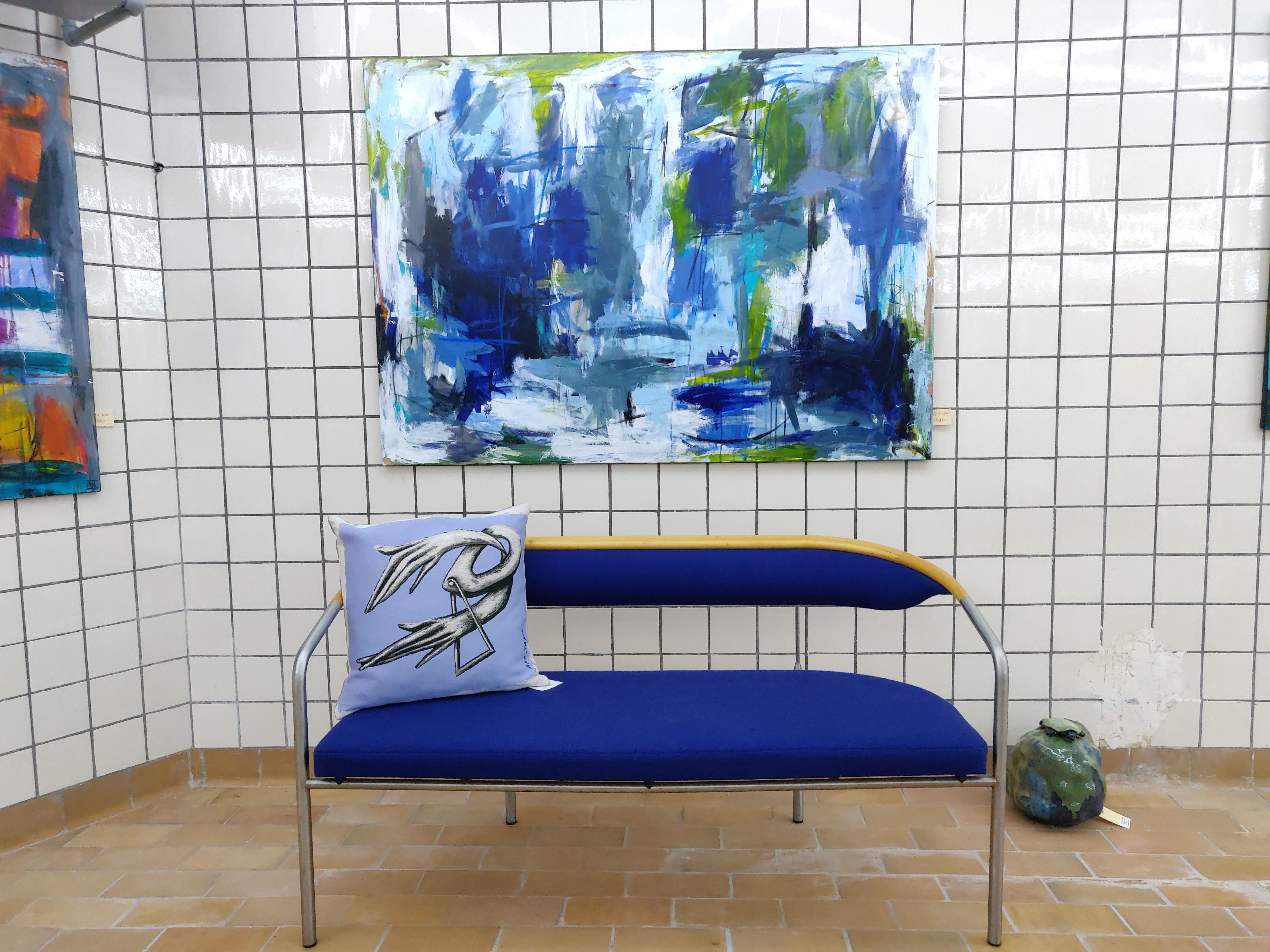 Ina Nielsen Maleri Abstrakt