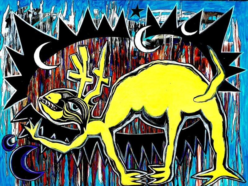 Urban-Art Moondeer