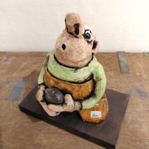 Søren Wullum skulptur møller i mejeriet